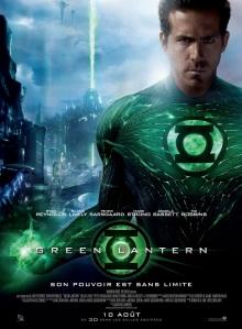 green lantern ryan reynolds affiche présentation